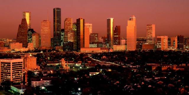 Houston Texas in Color